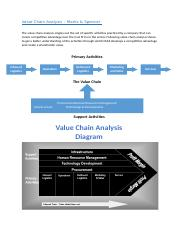 Value Chain Analysis - M&S.docx