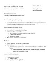 History of Japan Exam 1 Study Guide.pdf
