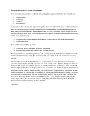 Sociological approach to health and ill p2.docx