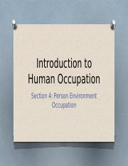 Introduction to Human Occupation - PEO.pptx