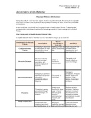 sci 163 week 2 physical fitness and nutrition worksheet 18 usd sci 163 week 2 physical fitness and nutrition worksheet complete the physical fitness and nutrition worksheet submit the completed worksheet to your instructor physical fitness and nutrition worksheet to obtain optimal health, it is critical to.