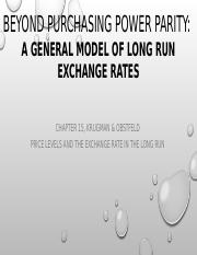 Lecture 4_General model of long run exchange rates.pptx