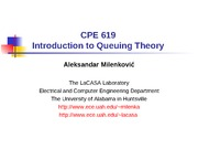Introduction2QueueingTheory