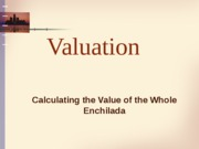 firm Valuation - handout