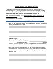 Session 8 Worksheet CX in B2B Marketing.docx