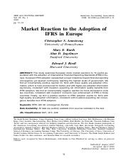 [ folder 1 ]   2. Market Reaction to the Adoption of IFRS in Europe.pdf