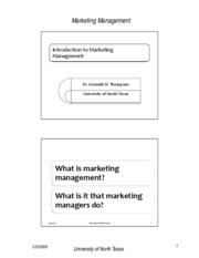 chapter 2marketing Managment 3650