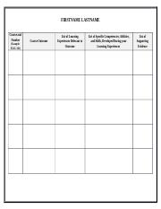 Learning Matrix template