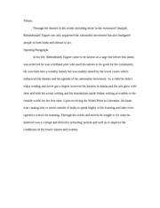 Research Paper Thesis and Introduction