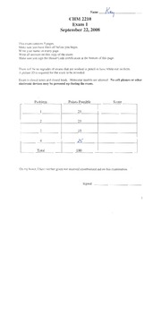 Practice Exam Key Pg 1