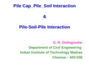 9_5_Pile Cap_Pile_Soil Interaction