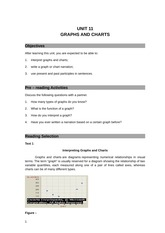 UNIT 11 GRAPHS AND CHARTS