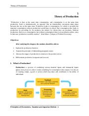 5. Theory of Production.doc