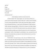 Smoke Signals Final Draft Essay - Jack Hill.docx