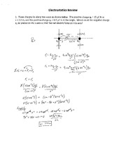 Electrostatics_Review_Solutions_2012