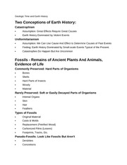 earth science Geologic Time and Earth History