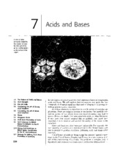 Chapter 07 - Acids and Bases