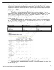 Nutrition & Health - Exam 1 Review