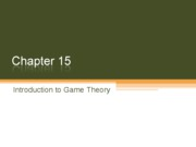 8 Introduction to Game Theory