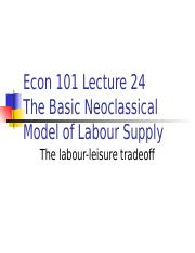 Econ101laboursupply.ppt