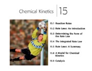 Ch 10 - Chemical Kinetics