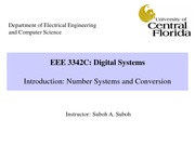 EEE 3342C_0001-Chapter1-NumberSystemsAndConversion