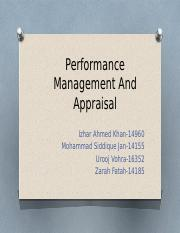 Performance Management and Appraisal.pptx