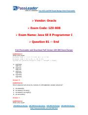 1Z0-808 Exam Dumps with PDF and VCE Download (81-end).pdf