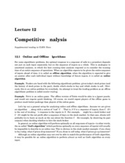 Competitive Analysis homework