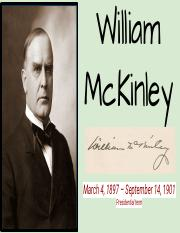 Vanessa Vrieze - WILLIAM McKINLEY.pdf