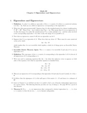 Linear Systems EGN 4450 USF Chapter 5 Notes, Exercises and solution