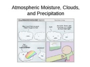 Lecture 8-Atmospheric moisture, clouds, precipitation