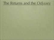 16_Returns and Odyssey