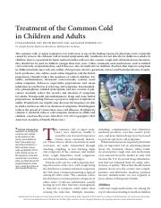 common cold reading