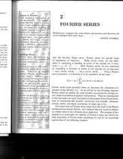 fourier series from industrial math