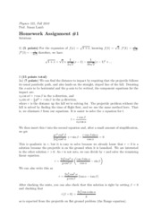 Physics 325 Homework Solutions