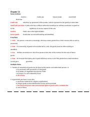 Chapter 14_law final  Business & Personal Law _REVIEW  KEY.docx