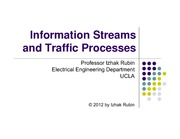 Section 8- Information Streams and Traffic Processes