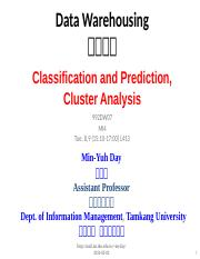 992DW07_Data_Warehousing_Classification_and_Prediction_Cluster_Analysis (1).ppt