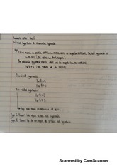 Econometrics Homework Notes Chapter #5