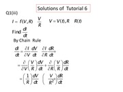 Supplementary solutions of tutorial 6