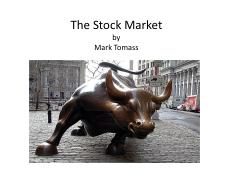 Tomass - 4. The Stock Market