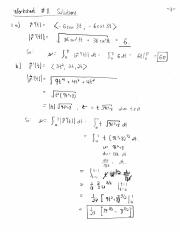 Worksheet 11 Solutions