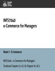 INFS7040 - 7 - E-Business and E-commerce - 1pp