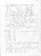 Ch 5 notes: Exponential Fuctions