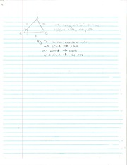 Pre-Calculus Law of Sines Notes