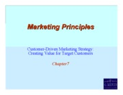 Principles of Marketing chapt7_09