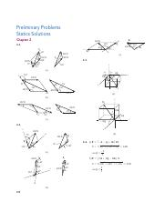 Review Problems - Solutions (Statics) pdf - Review Problem Solutions
