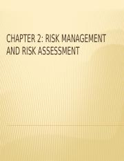 CHAPTER 2 - RISK MANAGEMENT AND ASSESSMENT.pptx