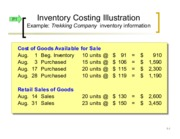CH 5 Inventory Examples PPT